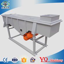 fine quartz silica sand flour sieving machine linear vibrating screen