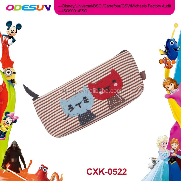 Disney Universal NBCU FAMA BSCI GSV Carrefour Factory Audit Manufacturer Wholesale Cheap Pencil Case Stationery Set