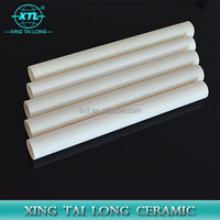 95% - 99.7% High Purity Alumina ceramic tube/ceramic cylinder pipe