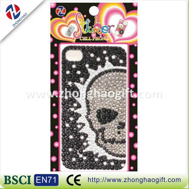 2016 high quality fashionable crystal design mobile phone case