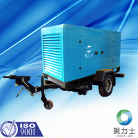 portable screw air compressor sand blasting machine for sale