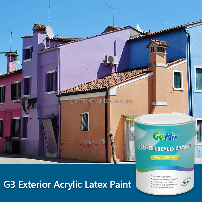G3 Best Outdoor House Paint Brand in China