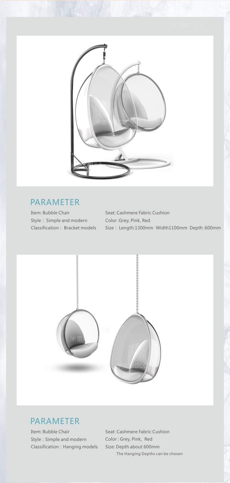 clear hanging bubble ball chair better than acrylic