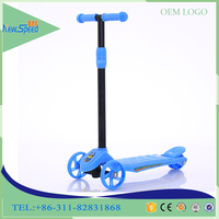 Cheap China products three wheel kids scooter/factory simple style kick scooter for children/best plastic wheel foot scooter