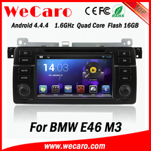 "Wecaro 7"" android 4.4.4 one din car dvd player for BMW E46 M3 Rover 75 GPS Radio WiFi 3G Mirror Link 1998 - 2005"