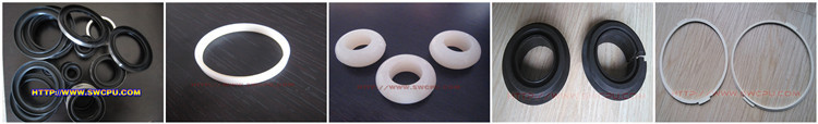 Food grade round ring rubber seals for canisters