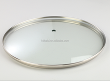 China manufacturer High quality cheap Various types glass lid non-stick pan