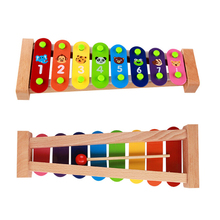 FQ band Musical instrument toy 8 notes professional chinese wood bar xylophone for sale