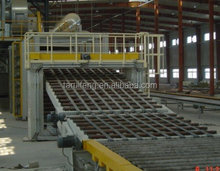 Gypsum board machine Hot oil and hot air type