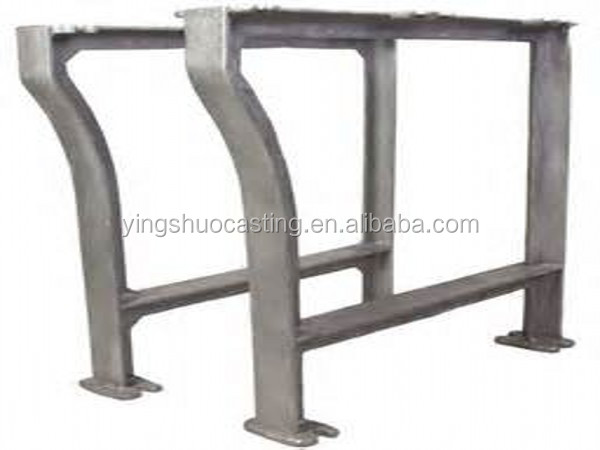 OEM China manufacturer cast iron table legs