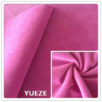 knitted polyester velboa fabric for garment