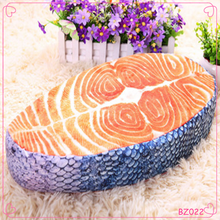 New Design Different Shapes Cute Plush Cartoon Fish Pillow Wholesale