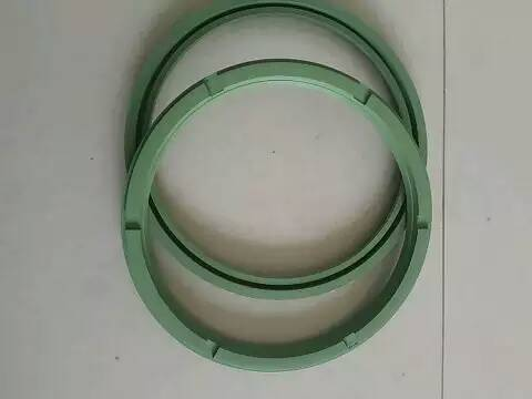 OEM long worklife V type ring combined fabric rubber oil seal Roll neck seals
