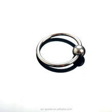Weighted Penis Stainless Steel Cock Ring Video Fancy Jewelry Wholesale
