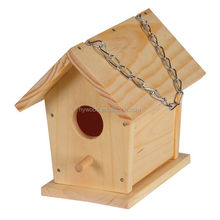 metal hanging home decorative wood colorful bird nest