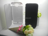 5V 0.5A cell phone charger case, for samsung note 2 battery case with leather