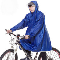 Promotional Gift Adult 100% EVA Raincoat for Motorcycle Riders