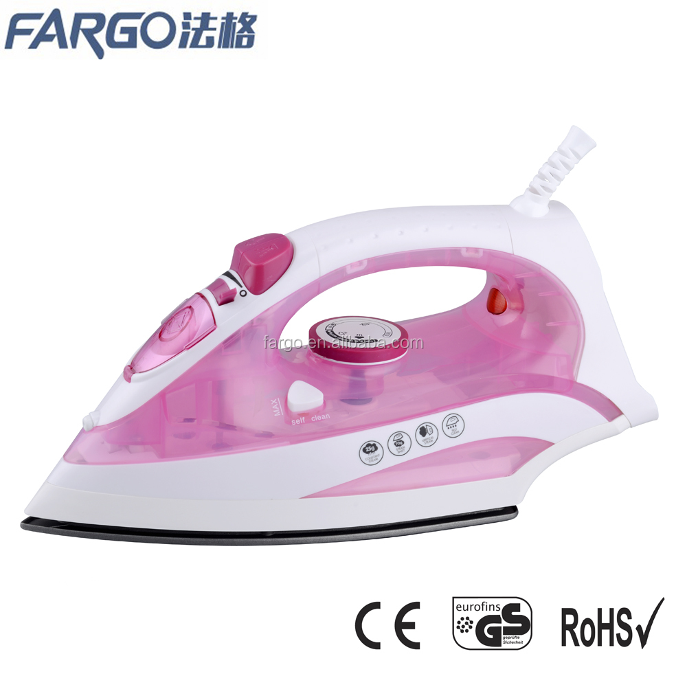 National electric steam spray burst full fuction iron from CIXI factory