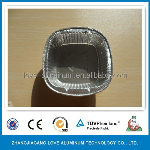 aluminum soup takeaway container for food delivery