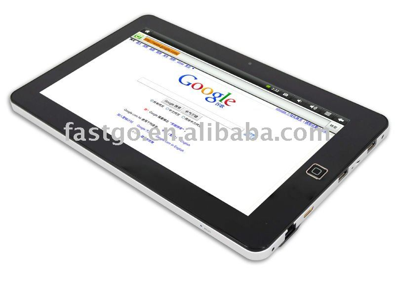 "Hot sale super pad ii 10.2"" Tablet PC with android 2.2"