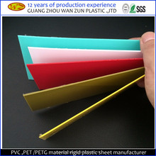 1.2mm 1.4mm 1.5mm thick flexible PVC core lamination plastic sheet for furniture