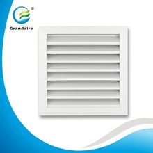 HVAC System Aluminum Weather Louvers with Bird/Inset Mesh