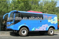High quality 8m length 4x4 diesel desert off road bus