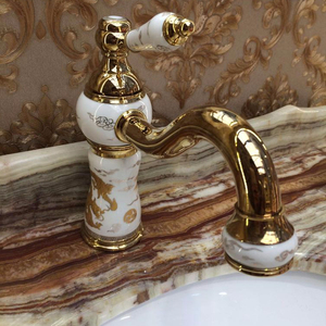 Japan Style Ceramic Furniture Handles Knob Fashion Faucet Fitting