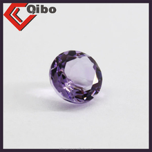 cubic zirconia supplier wholesale price synthetic amethyst