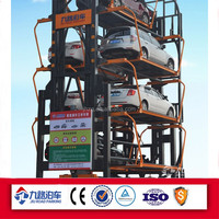 Parking car system electric auto rotary parking lift
