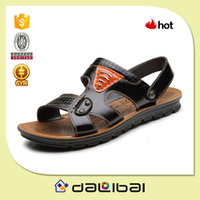 2015 newest style PU sole chappal peshawari chappal leather shoes
