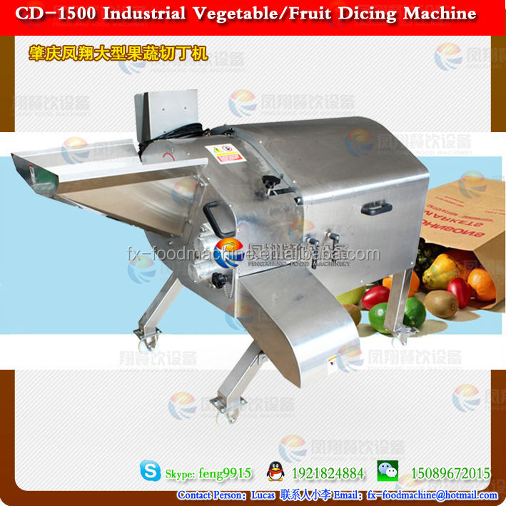 2014 Stainless steel automatic vegetable dicing machine