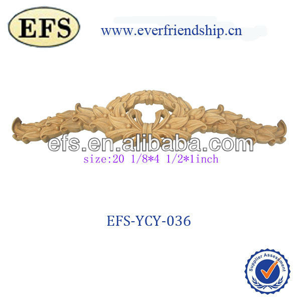 2014 antique furniture decorative wood carving(EFS-YCY-036)