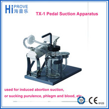 TX-1 Pedal Suction Apparatus