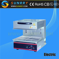 Electric auto kitchen salamander grill with adjustable height 140 mm grill with salamander (SUNRRY SY-SL500A)