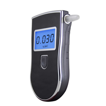 High-precision portable breath alcohol tester alcohol detector with backlight
