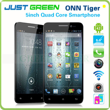 "Original brand! ONN Tiger Smartphone 5"" Capacitive Screen 1920*1080 Android 4.2 Quad Core Wifi Bluetooth Gps 2 cameras"