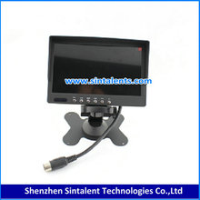 Super Wide Touch Screen Car Rearview Mirror 7 inches TFT LCD Color Monitor