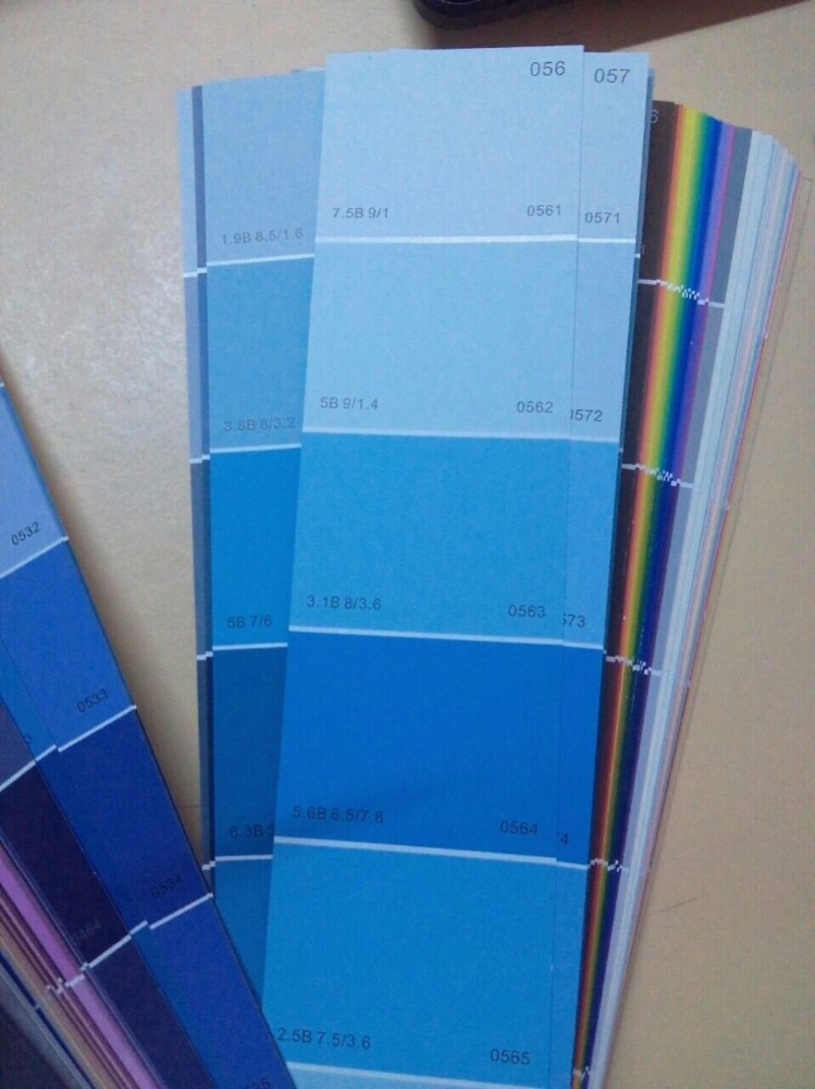 Oceanpower 258 Color card, wide-used universal color swatches, paint color fandeck
