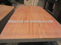 indonesia red hardwood face/back plywood