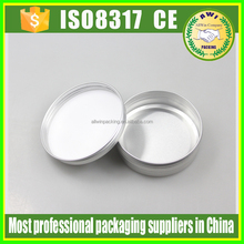 aluminum cream jar active demand 60ml aluminum tins
