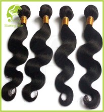 Grade Virgin Brazilian 100% Human Hair virgin peruvian and brazilian hair weave