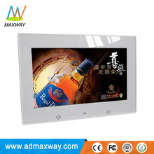 10 Inch Multi Function Digital Photo Frame Acrylic For Commercial Gift