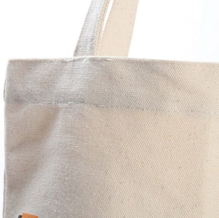 custom promotional fashional cotton canvas tote bags