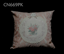wholesale custom latest design cushion covers with Lace decorative