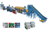 pe film recycling and granulating production line waste plastic film recycling line