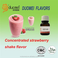 Concentrated strawberry shake flavour artificial fruit flavor shisha fragrance PG eliquid flavor