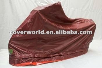 full motorcycle cover with a bottom