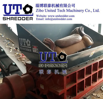 sofa shredder/ Double Shaft Shredder / Heavy Duty Shredder / Furniture Shredder/ Mattress Crusher