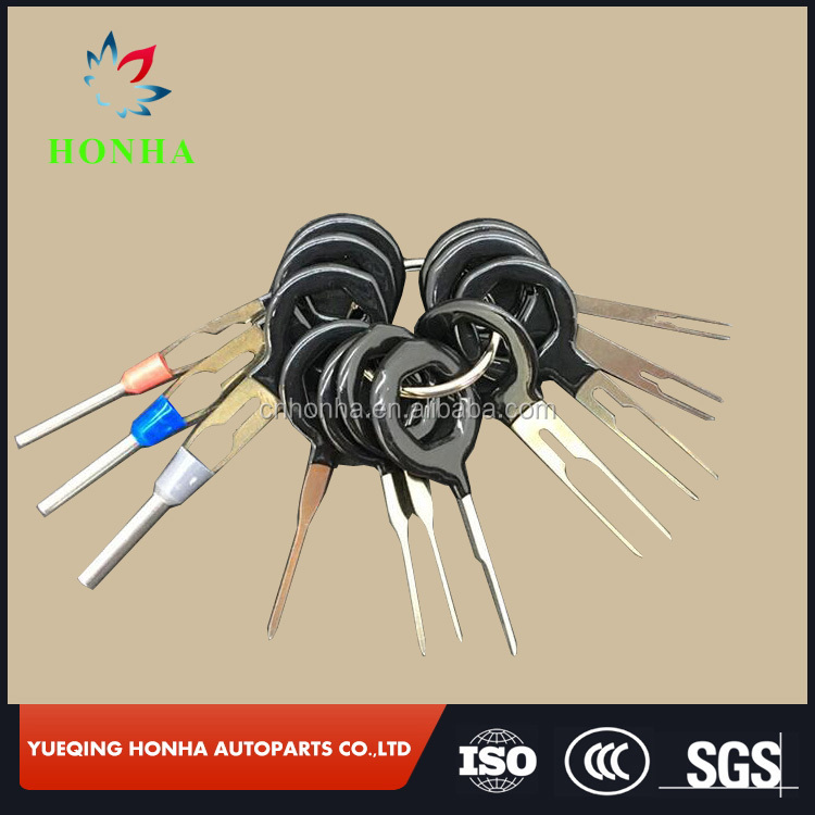 Car Wiring harness Terminal Removal Extractor Crimp Connector Release Pin Key Tool <strong>Kit</strong>